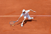 Roland Garros 2011. Paris, France. May 22nd 2011..Czech player Jan HAJEK against Jo-Wilfried TSONGA..