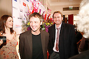 JOHN SIM AND PHILIP GLENISTER, 17th Annual Book Awards, hosted by richard and Judy. grosvenor House. London. 29 March 2006. ONE TIME USE ONLY - DO NOT ARCHIVE  © Copyright Photograph by Dafydd Jones 66 Stockwell Park Rd. London SW9 0DA Tel 020 7733 0108 www.dafjones.com