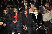 Puff Daddy at Marc Jacobs fashion show. NY State Armory, Lexington Ave,  New York. 8/2/00<br />© Copyright Photograph by Dafydd Jones 66 Stockwell Park Rd. London SW9 0DA Tel 0171 733 0108 www.dafjones.com