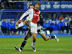 18.10.2011, Stadion Maksimir, Zagreb, CRO, UEFA CL, Gruppe D, Dinamo Zagreb (CRO) vs Ajax Amsterdam (NED), im Bild  Siem de Jong // during UEFA Champions League group D match between Dinamo Zagreb (CRO) and Ajax Amsterdam (NED)) at Maksimir Stadium, Zagreb, Croatia on 18/10/2011. . EXPA Pictures © 2011, PhotoCredit: EXPA/ nph/ PIXSELL  **** only for AUT       ****** out of GER / CRO  / BEL ******