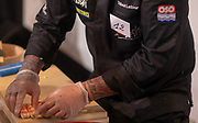 Thibaut LATOUR lors de l'épreuve Edeomae pendant la 3 ème édition du championnat de  France de sushi