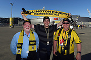 Wellington Phoenix Fans seen during the Hyundai A-League game between Wellington Phoenix v Sydney FC, Westpac, Wellington, Saturday 23rd December 2017. Copyright Photo: Raghavan Venugopal / © www.Photosport.nz 2017