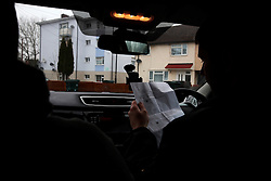 UK ENGLAND COVENTRY 17MAR15 - Covert surveillance from a rental car at target locations selected for mystery shopping for illegal and untaxed cigarettes in Coventry, England.<br /> <br /> <br /> jre/Photo by Jiri Rezac<br /> <br /> &copy; Jiri Rezac 2015