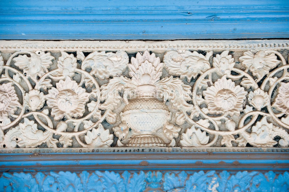 Detail of door to a home in Nagapattinam.