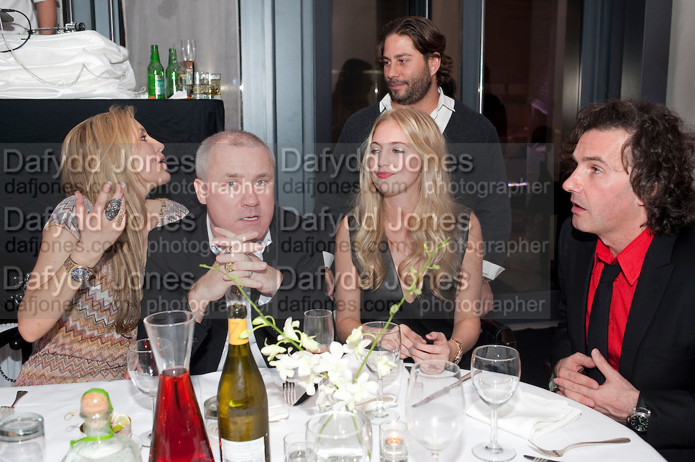 """LAURA BARDIGEU; DAMIEN HIRST; MARISSA MONTGOMERY; ANT GENN,   Andy Valmorbida hosts party to  honor artist Raphael Mazzucco and Executive Editors Jimmy Iovine and Sean ÒDiddyÓ Combs with a presentation of works from their new book, Culo by Mazzucco. Dinner at Mr.ÊChow at the W South Beach.Ê2201 Collins Avenue,Miami Art Basel 2 December 2011<br /> LAURA BARDIGEU; DAMIEN HIRST; MARISSA MONTGOMERY; ANT GENN,   Andy Valmorbida hosts party to  honor artist Raphael Mazzucco and Executive Editors Jimmy Iovine and Sean """"Diddy"""" Combs with a presentation of works from their new book, Culo by Mazzucco. Dinner at Mr.Chow at the W South Beach.2201 Collins Avenue,Miami Art Basel 2 December 2011"""
