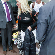 NLD/Amsterdam/20120501 - Backstreet Boys in Amsterdam, Brian Littrell en partner Leighanne Wallace