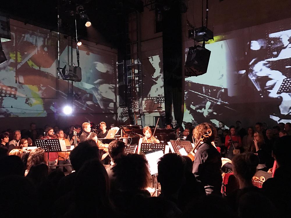 Germany - Deutschland - HOLZMARKT Projekt; Konzertsaal - Säälchen; Kontert Yellow Lounge MAX RICHTER; Visuals … Berlin, 26.01.2017; © Christian Jungeblodt