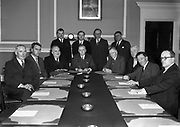 Cabinet 1954-57 Taoiseach John A. Costello Fine Gael Tánaiste William Norton Labour Party Minister for Industry and Commerce Minister for Education Richard Mulcahy	Fine Gael Minister for Lands Joseph Blowik	Clann na Talmhan Minister for Justice James Everett	Labour Party Minister for Agriculture James Dillon Fine Gael Minister for Defence Seán Mac Eoin Fine Gael Minister for Posts and Telegraphs Michael Keyes Labour Party Minister for External Affairs Liam Cosgrave Fine Gael Minister for Social Welfare	Brendan Corish Labour Party Minister for Finance Gerard Sweetman Fine Gael Minister for Local Government Patrick O'Donnell Fine Gael Minister for Health Tom O'Higgins Fine Gael 3rd June 1954 3-6-1954