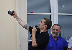 July 20, 2018 - Macon, France - ANTOINE GRIEZMANN   DE RETOUR A MACON .APRES SON TITRE DE CHAMPION DU MONDE (Credit Image: © Panoramic via ZUMA Press)