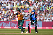 Dan Christian of Notts Outlaws batting during the Vitality T20 Finals Day 2019 match between Notts Outlaws and Worcestershire Rapids at Edgbaston, Birmingham, United Kingdom on 21 September 2019.