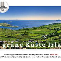 Die Gruene Kueste Irland - panoramic Wall Calendar 2010