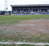 09-03-2013 - Dens Park pitch inspection