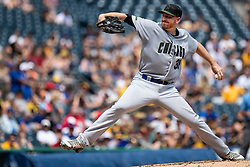May 28, 2018 - Pittsburgh, PA, U.S. - PITTSBURGH, PA - MAY 28:   Chicago Cubs relief pitcher Mike Montgomery (38) throws a pitch during an MLB game between the Pittsburgh Pirates and Chicago Cubs on May 28, 2018 at PNC Park in Pittsburgh, PA. (Photo by Shelley Lipton/Icon Sportswire) (Credit Image: © Shelley Lipton/Icon SMI via ZUMA Press)