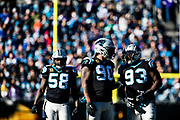 December 10, 2017: Minnesota vs Carolina. Julius Peppers, Kyle Love, Thomas Davis