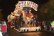 Stampede by Masqueraders Carnival Club at Glastonbury and Chilkwell Guy Fawkes Carnival, 2013.