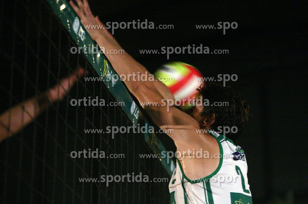 Matevz Kamnik (Vital Pro Team) at qualifications for 14th National Championship of Slovenia in Beach Volleyball and also 4th tournament of series TUSMOBIL LG presented by Nestea, on July 25, 2008, in Kranj, Slovenija. (Photo by Vid Ponikvar / Sportal Images)/ Sportida)