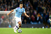 Manchester City midfielder Rodri (16) during the Champions League match between Manchester City and Dinamo Zagreb at the Etihad Stadium, Manchester, England on 1 October 2019.