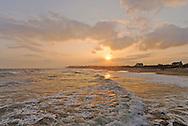 Ditch Plains Beach, Montauk Cliffs, Ocean, New York, Long Island
