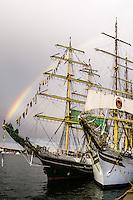 Sweden, Stockholm. Tall Ships Race Stockholm 2007. Sørlandet and Alexander von Humboldt.