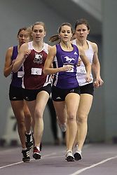 London, Ontario ---11-01-22---   Megan Beverley of the McMaster Marauders competes at the 2011 Don Wright meet at the University of Western Ontario, January 22, 2011..GEOFF ROBINS/Mundo Sport Images.