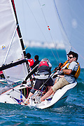 Viper class racing at the Bacardi Miami Sailing Week regatta, day 3.
