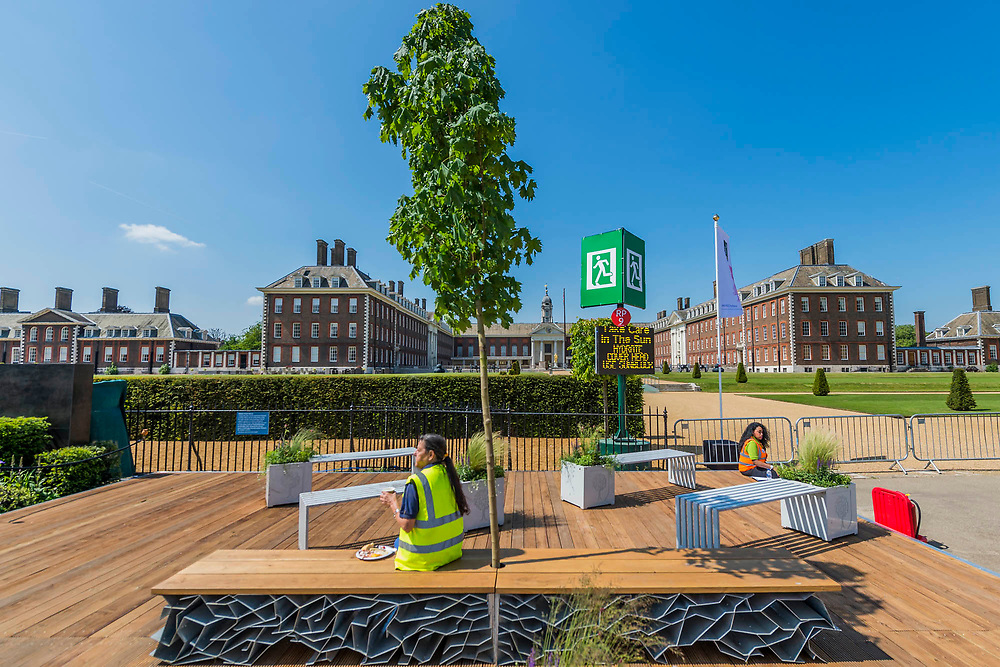 The RHS Chelsea Flower Show at the Royal Hospital, Chelsea.