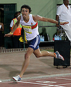 STELLENBOSCH, SOUTH AFRICA, Tuesday 20 March 2012, Jacques de Swardt during the Yellow Pages Series athletics meeting at the University of Stellenbosch Coetzenburg stadium..Photo by Roger Sedres/Image SA