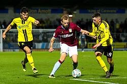 Ritchie De Laet of Aston Villa takes on Reece Hutchinson of Burton Albion - Mandatory by-line: Robbie Stephenson/JMP - 28/08/2018 - FOOTBALL - Pirelli Stadium - Burton upon Trent, England - Burton Albion v Aston Villa - Carabao Cup