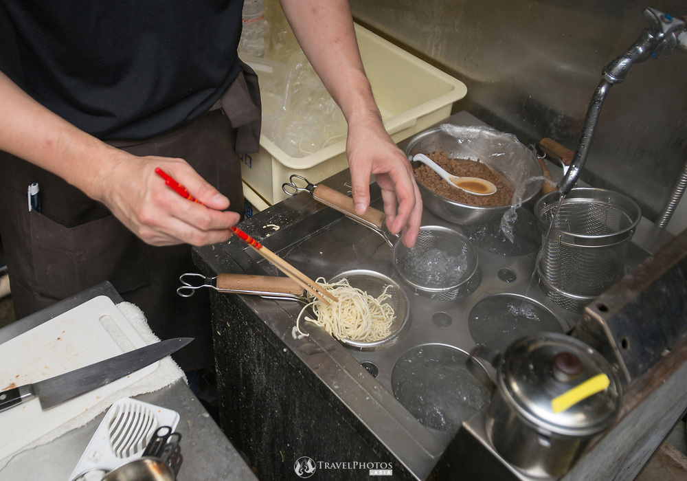 """A type of Chinese noodles (or ramen) known as """"nikumiso tantanmen"""""""