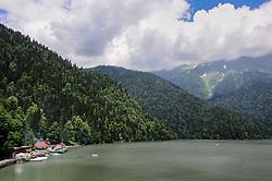 May 1, 2019 - Abkhazia, Abkhazia - Lake Ritsa  (Credit Image: © Demian Stringer/ZUMA Wire)