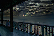 Storm Clouds gather over the Pavilion at Boca Raton South Beach