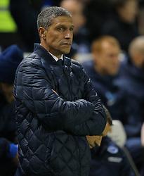 Brighton and Hove Albion Manager, Chris Hughton - Mandatory byline: Paul Terry/JMP - 29/02/2016 - FOOTBALL - Falmer Stadium - Brighton, England - Brighton v Leeds United - Sky Bet Championship