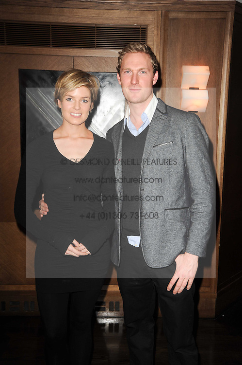ISABELLA ANSTRUTHER-GOUGH-CALTHORPE and SAM HOARE at 'Heavenly Ivy' a play to commemorate 20 years of The Ivy Restaurant, held at The Ivy, West Street, London on 8th November 2010.