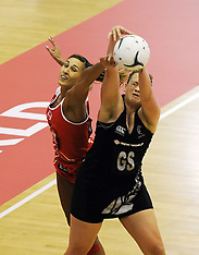 Palmerston North-Netball, New Zealand v England, 2nd test
