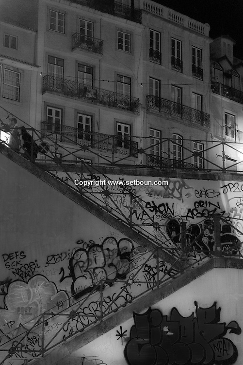 Portugal. Lisbon. Rossio district