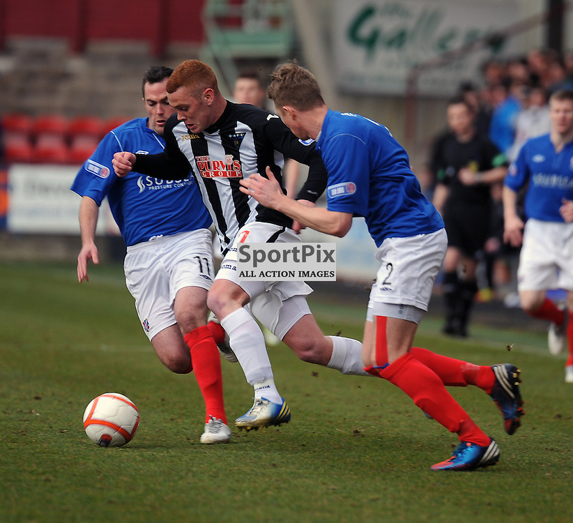 Dunfermline v Cowdenbeath, SDIV1, East End Park, 20-04-2013..Ryan Thomson..(c) David Wardle | StockPix.eu