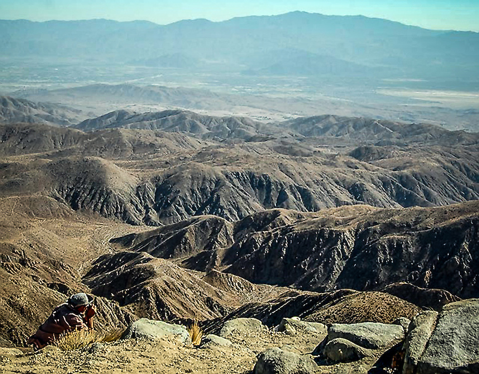 San Jacinto Mountains and beyond
