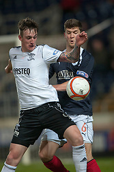 Livingston's Jordan Morton and Falkirk's Stewart Murdoch..Falkirk v Livingston, 19/2/2013..©Michael Schofield.