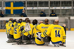 JPN v SWE during the 2013 World Para Ice Hockey Qualifiers for Sochi, Torino, Italy