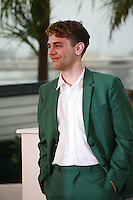 Director Xavier Dolan at the photo call for the film Mommy at the 67th Cannes Film Festival, Thursday 22nd May 2014, Cannes, France.