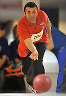 BOWLING AT HULAKULA BOWLING CENTRE IN WARSAW..SPECIAL OLYMPICS EUROPEAN SUMMER GAMES - WARSAW 2010..THE IDEA OF SEPCIAL OLYMPICS IS THAT, WITH APPROPRIATE MOTIVATION AND GUIDANCE, EACH PERSON WITH INTELLECTUAL DISABILITIES CAN TRAIN, ENJOY AND BENEFIT FROM PARTICIPATION IN INDIVIDUAL AND TEAM COMPETITIONS...WARSAW , POLAND , SEPTEMBER 21, 2010..MANDATORY CREDIT:.PHOTO BY ADAM NURKIEWICZ / MEDIASPORT