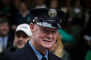 Images from of Cardinal Dolan announcing the commencment of the renovation and restoration of St. Patricks Cathedral.(Firefighter Bob Beckwith....the one who was with George W. Bush at Ground Zero)