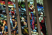 New Zealand, South Island, Otago, Dunedin Interior of Saint Pauls Cathedral