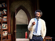 Educating Rita <br /> by Willy Russell<br /> at the Minerva Theatre, Chichester, Great Britain <br /> press photocall <br /> 22 June 2015 <br /> Lenny Henry as Frank <br /> Director: Michael Buffong<br /> Photograph by Elliott Franks <br />  <br /> Image licensed to Elliott Franks Photography Services