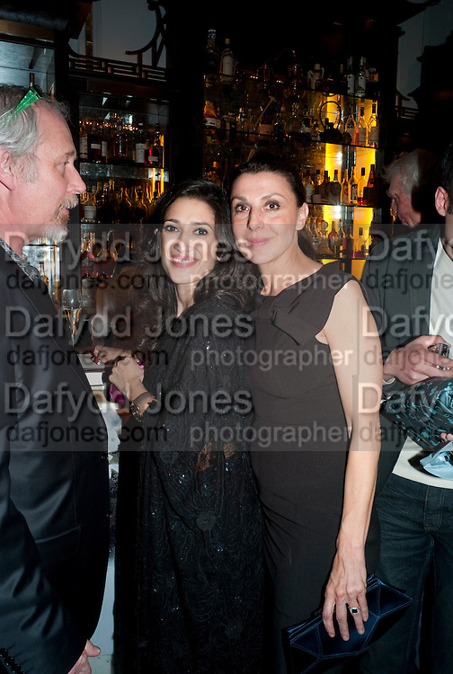 FATIMA BHUTTO; ALLEGRA DONNE, Henry Porter hosts a launch for Songs of Blood and Sword by Fatima Bhutto. The Artesian at the Langham London. Portland Place. 15 April 2010.