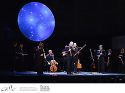 Galileo Galileis development of the astronomical telescope was an innovation that was to forever change the way we view the universe and our place within it...To commemorate the 400th anniversary of this achievement, Canada's Tafelmusik, one of the worlds most prolific and celebrated baroque orchestras, has created the astounding Music of the Spheres...More of a performance than a concert, works by Galileos contemporaries are performed from memory, playing in perfect harmony with stunning astrological images and words from the writings of Galileo, Isaac Newton and other great astronomers.