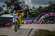 2018 UEC European Elite Championships, Glasgow (UK)<br /> TREIMANIS Edzus #127 (LATVIA)