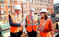 SEP 05 2013 Labour visit Cross Rail site