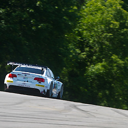 July 6, 2012 - The BMW Team RLL BMW E92 M3 driven by Joey Hand and Dirk Müller during the American Le Mans Northeast Grand Prix weekend at Lime Rock Park in Lakeville, Conn.