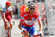 Rudy Molard (FRA - Groupama - FDJ) red jersey, during the UCI World Tour, Tour of Spain (Vuelta) 2018, Stage 7, Puerto Lumbreras - Pozo Alcon 185,7 km in Spain, on August 31th, 2018 - Photo Luca Bettini / BettiniPhoto / ProSportsImages / DPPI